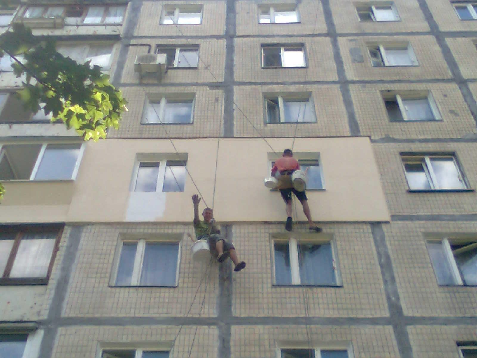 Дизайн балкона в высотном доме..