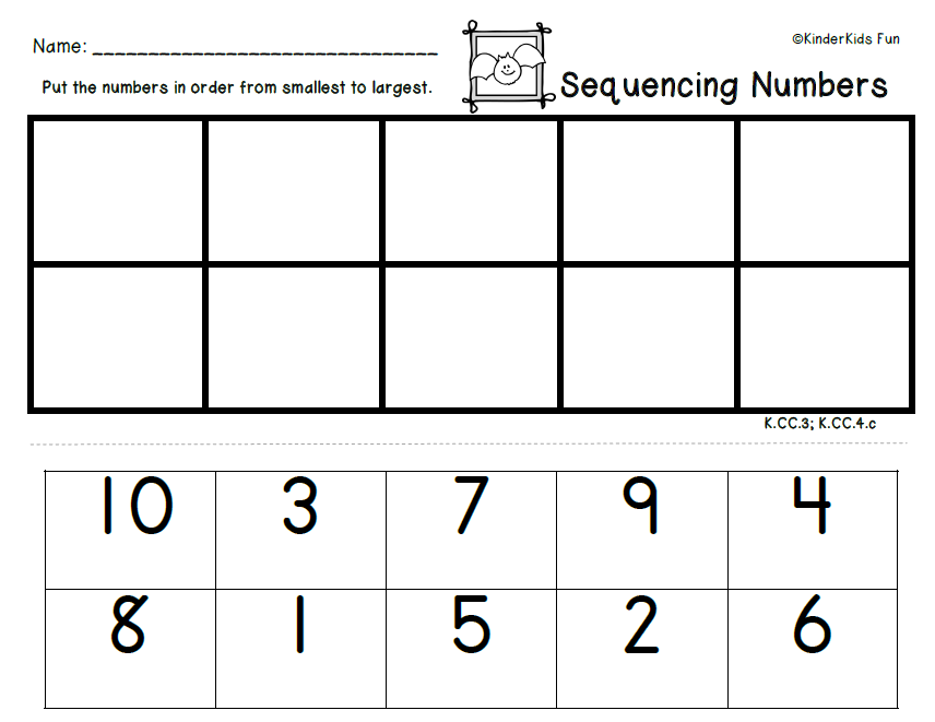 Counting 120 Worksheets – Number Sequencing Worksheets Kindergarten