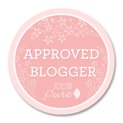 I'm a 100% Pure Approved Blogger