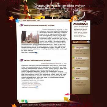 Fashion Elements blogger template. converted WordPress to Blogger template. fashion template blog