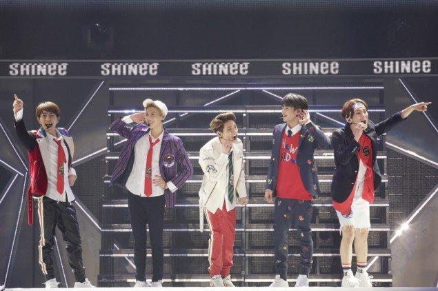 SHINee khởi động chuyến lưu diễn thứ 4 tại Nhật Bản