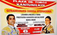Marc Serrano y Michelito, anunciados en mano a mano en Kantunilkin, 06/12.