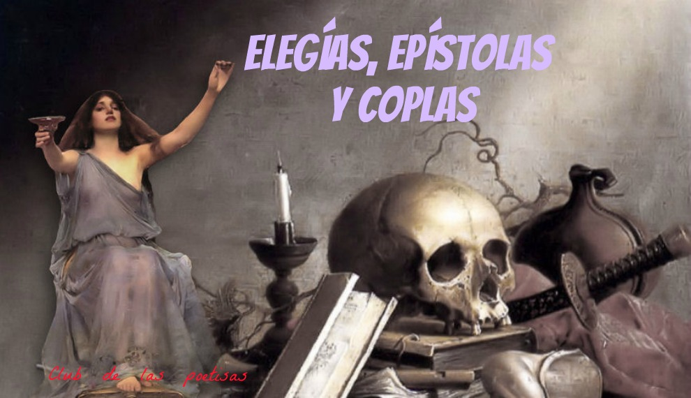 <center>Elegías, epístolas  y coplas </center>