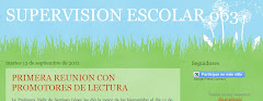 BLOG DE LA SUPERVISIÓN ESCOLAR 063