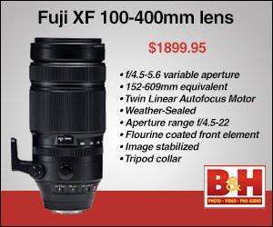Order the Fuji XF 100-400 Zoom