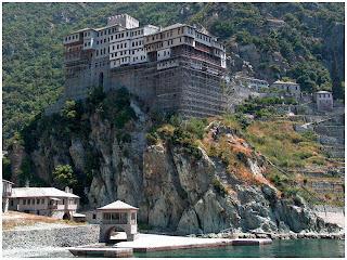 Atos. Manastir Sv. Dionisija.