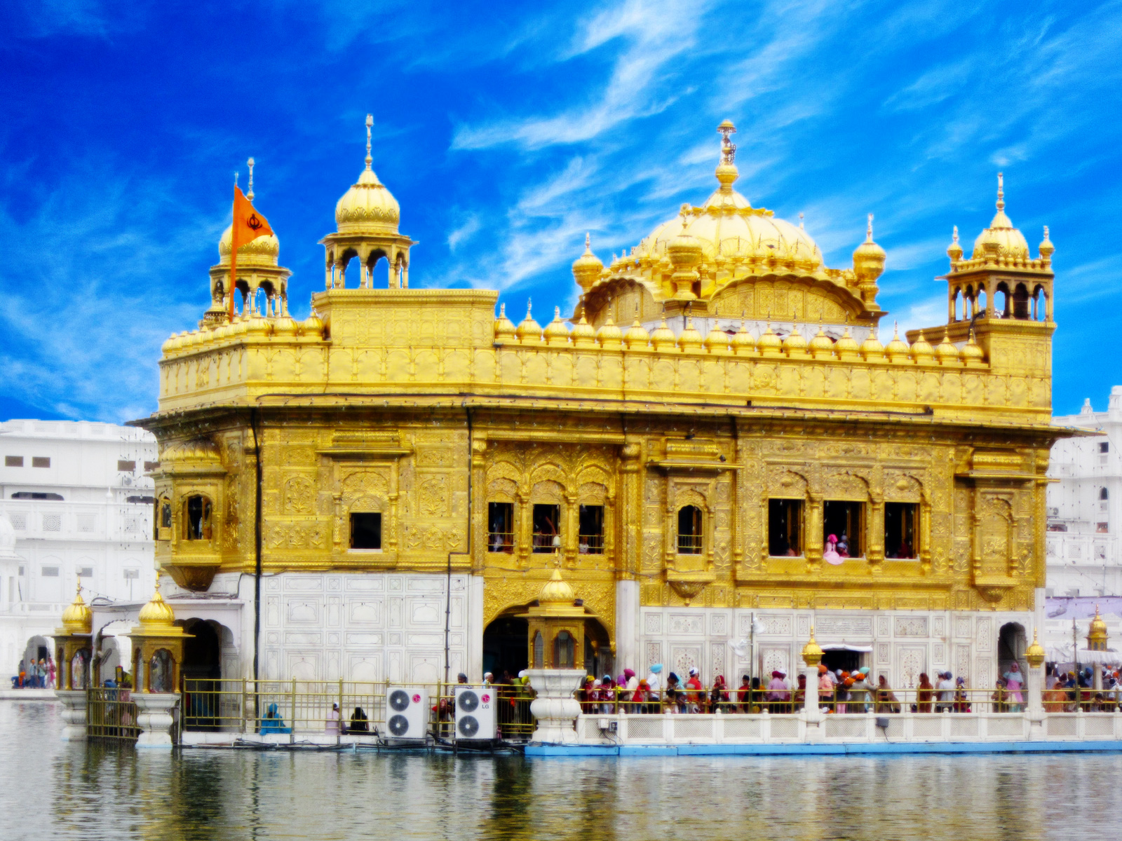 golden temple The golden temple ranks among the renowned pilgrimage spots in india.