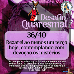 DESAFIO DO TEMPO DA QUARESMA