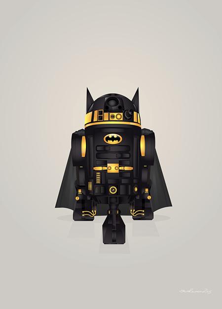 Steve Berrington. R2-D2 Superheroes