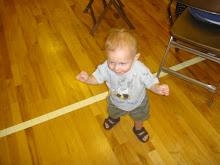 Finn is walking!!
