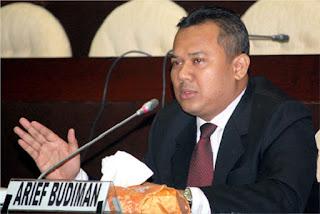ARIEF BUDIMAN, S.S., S.I.P., M.B.A, Anggota Komisi Pemilihan Umum Republik Indonesia (KPU RI) periode 2012-2017