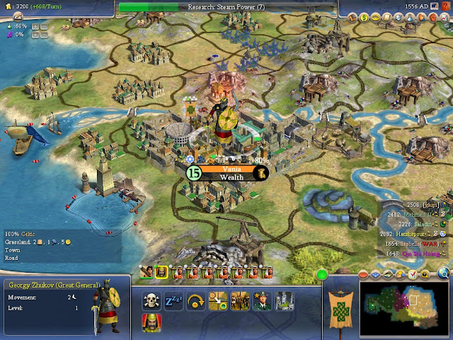 Civilization 4 - Great General Screenshot