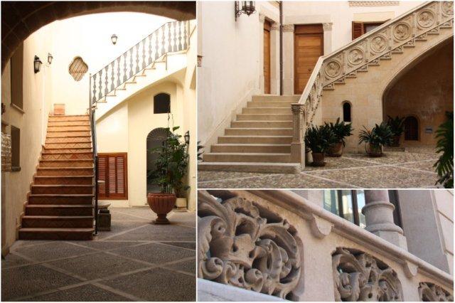 Patios de las casas señoriales de Palma de Mallorca