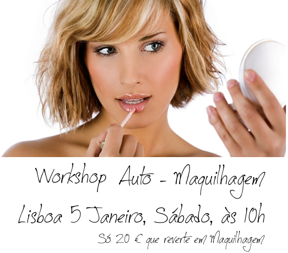 Workshop de Auto-Maquilhagem em Lisboa