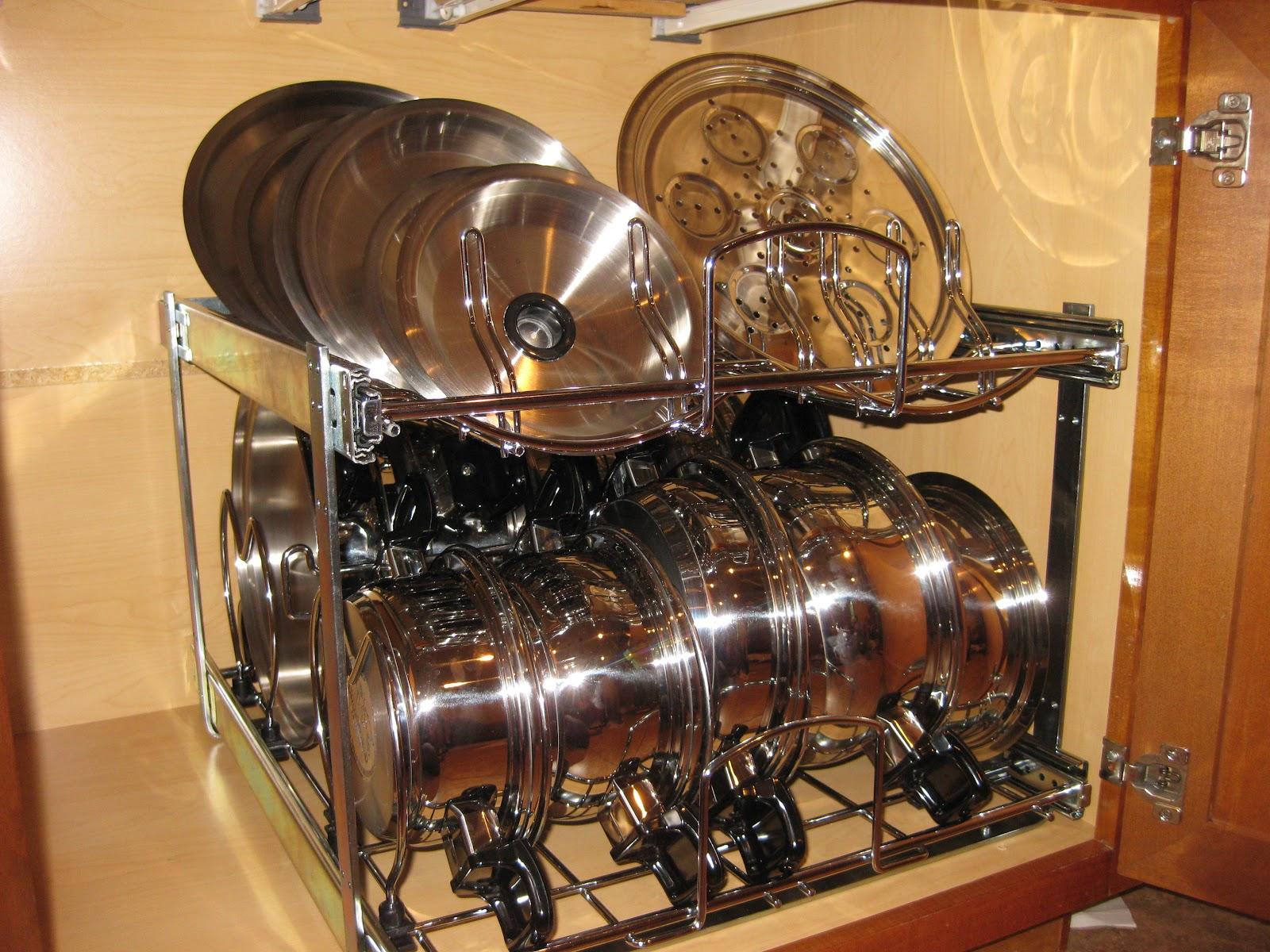 Pots And Pans Cabinet.Kitchen Pots And Pans Rack Cabinet Black ...