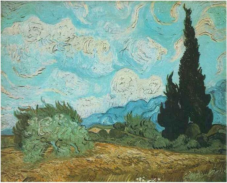 Vincent van gogh famous paintings and artwork of vincent for Best painting images