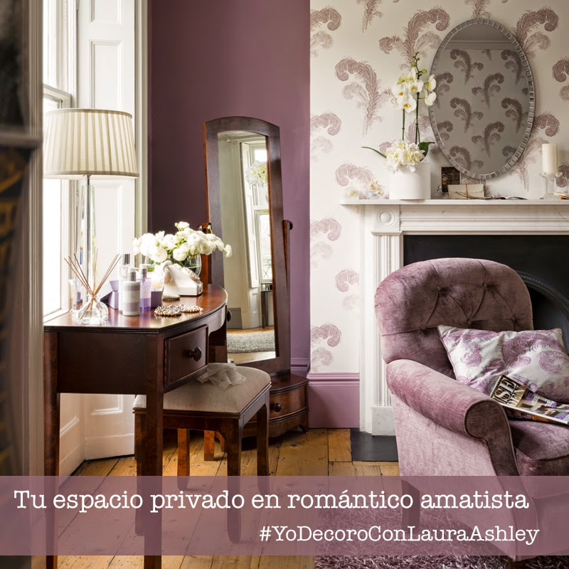 Decoración Laura Ashley Amatista