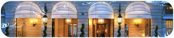 Hotel de luxe Le Ritz Paris