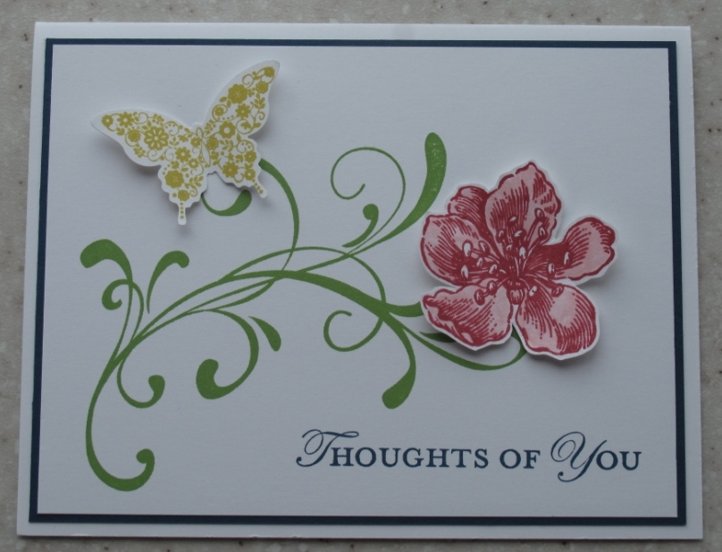 In my craft room stamping with glenda everything for Stampin pretty craft room