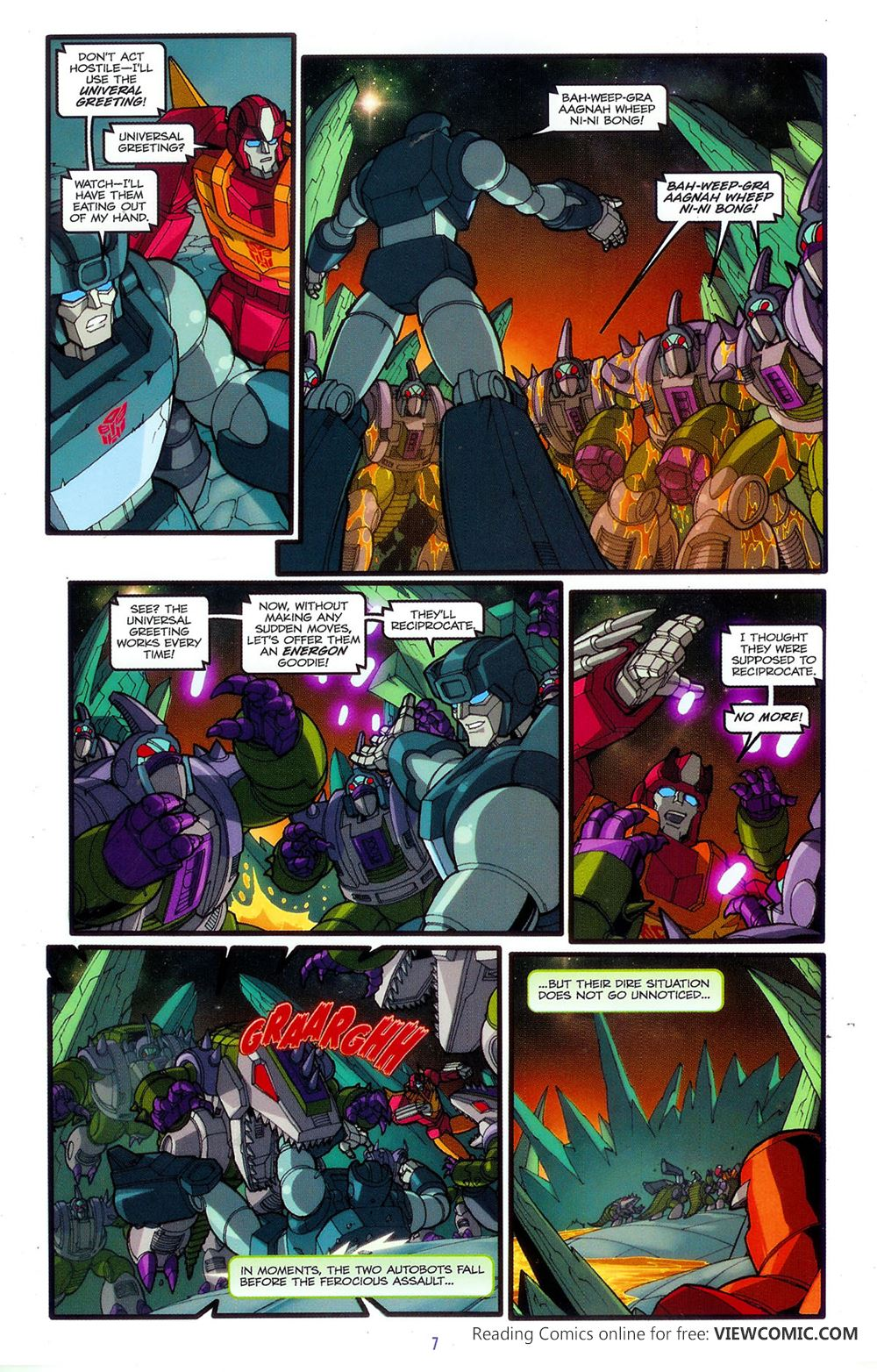 Transformers The Animated Movie 03 Of 04 2006 Reading Comics