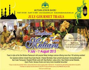 Mutiara Hotel Johor Bahru Buffet Ramadhan 2013