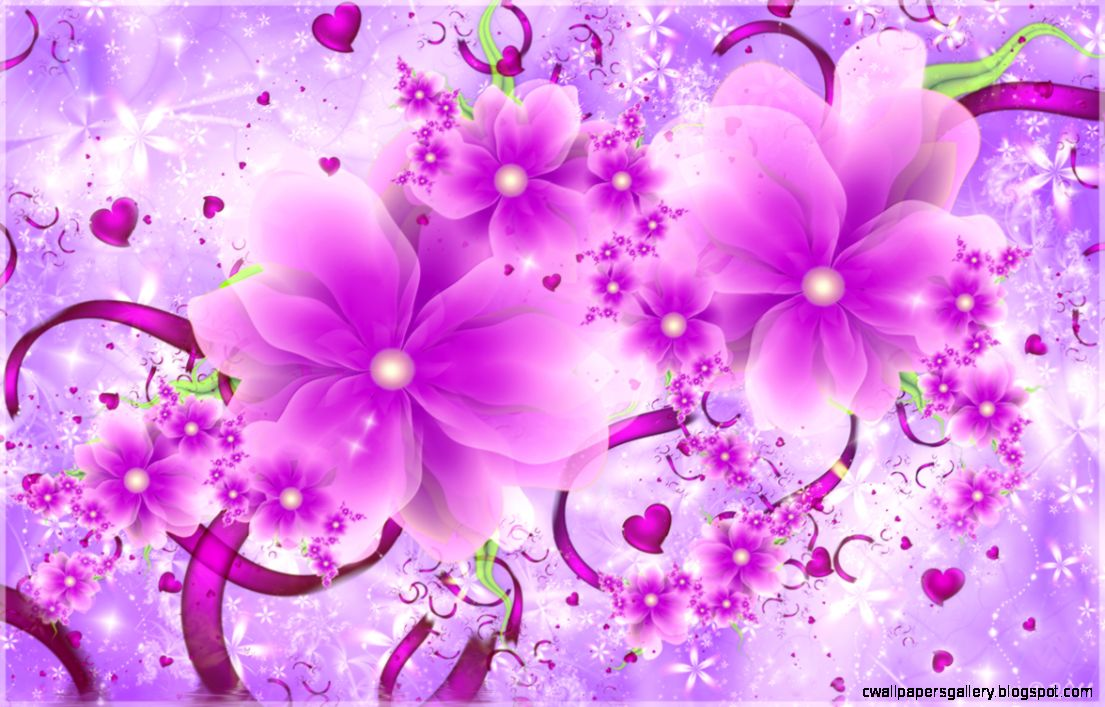 Pink Flowers Wallpapers   WallpaperSafari
