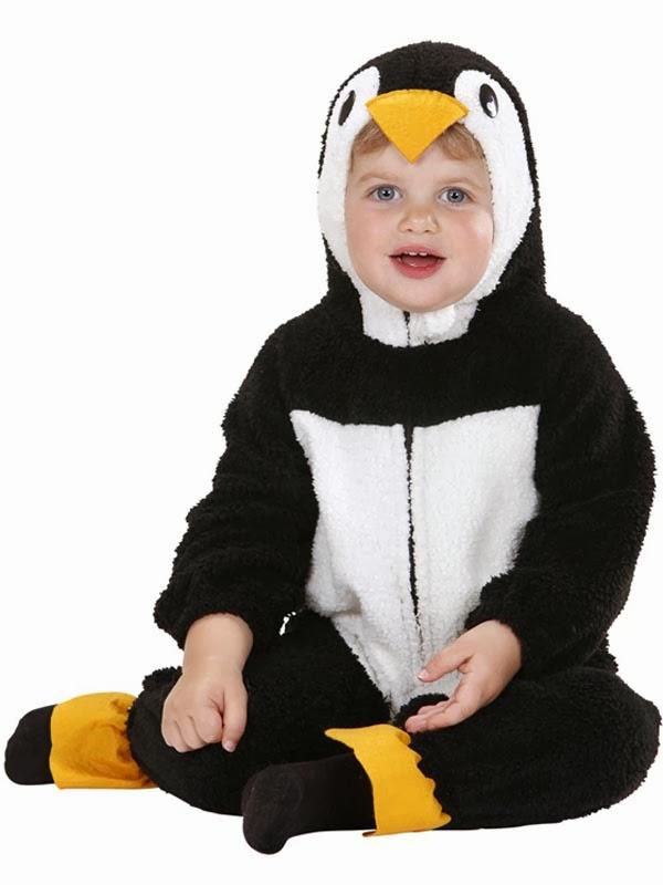 Baby pingvin kostume