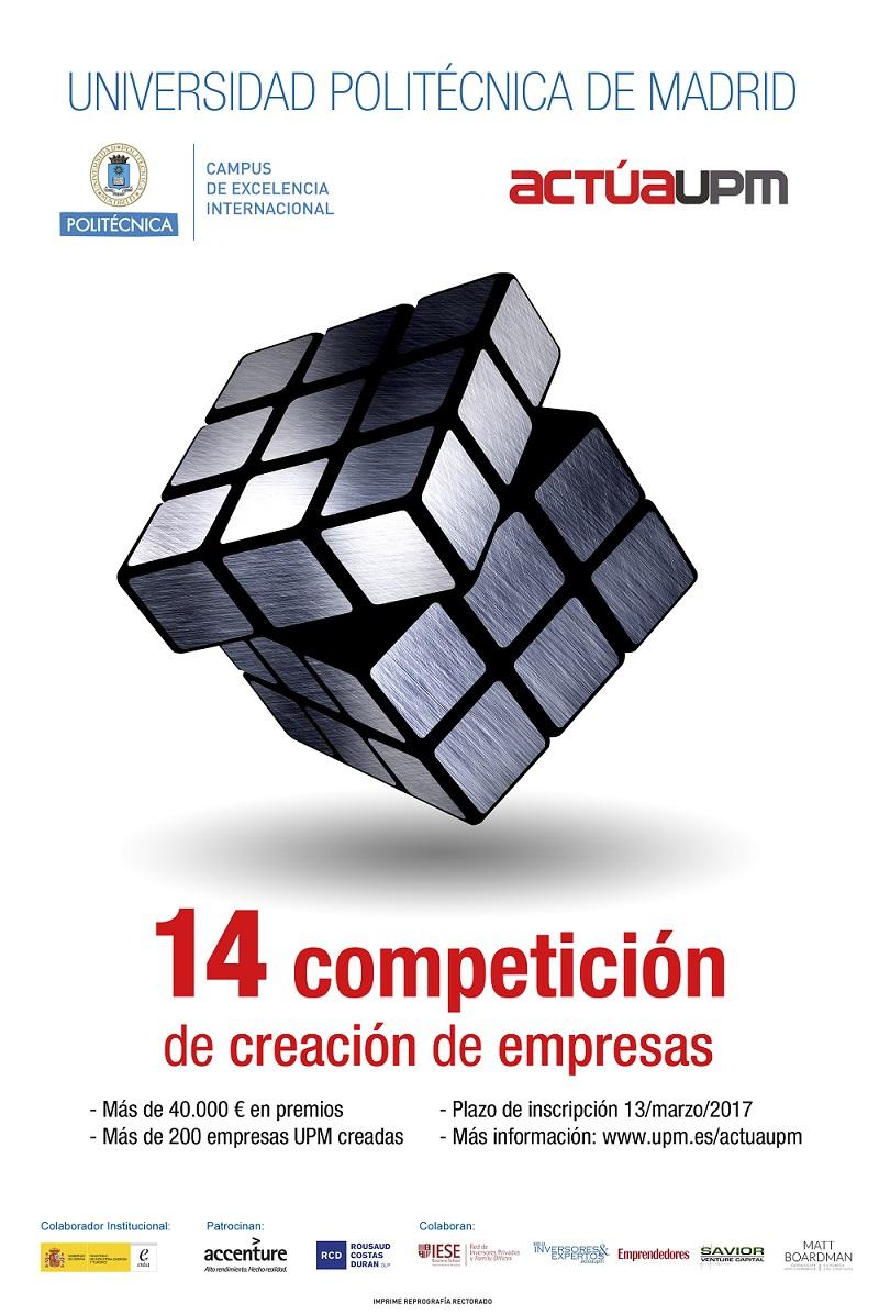 ¡Pon a prueba tus ideas! 14 Competición actúaupm