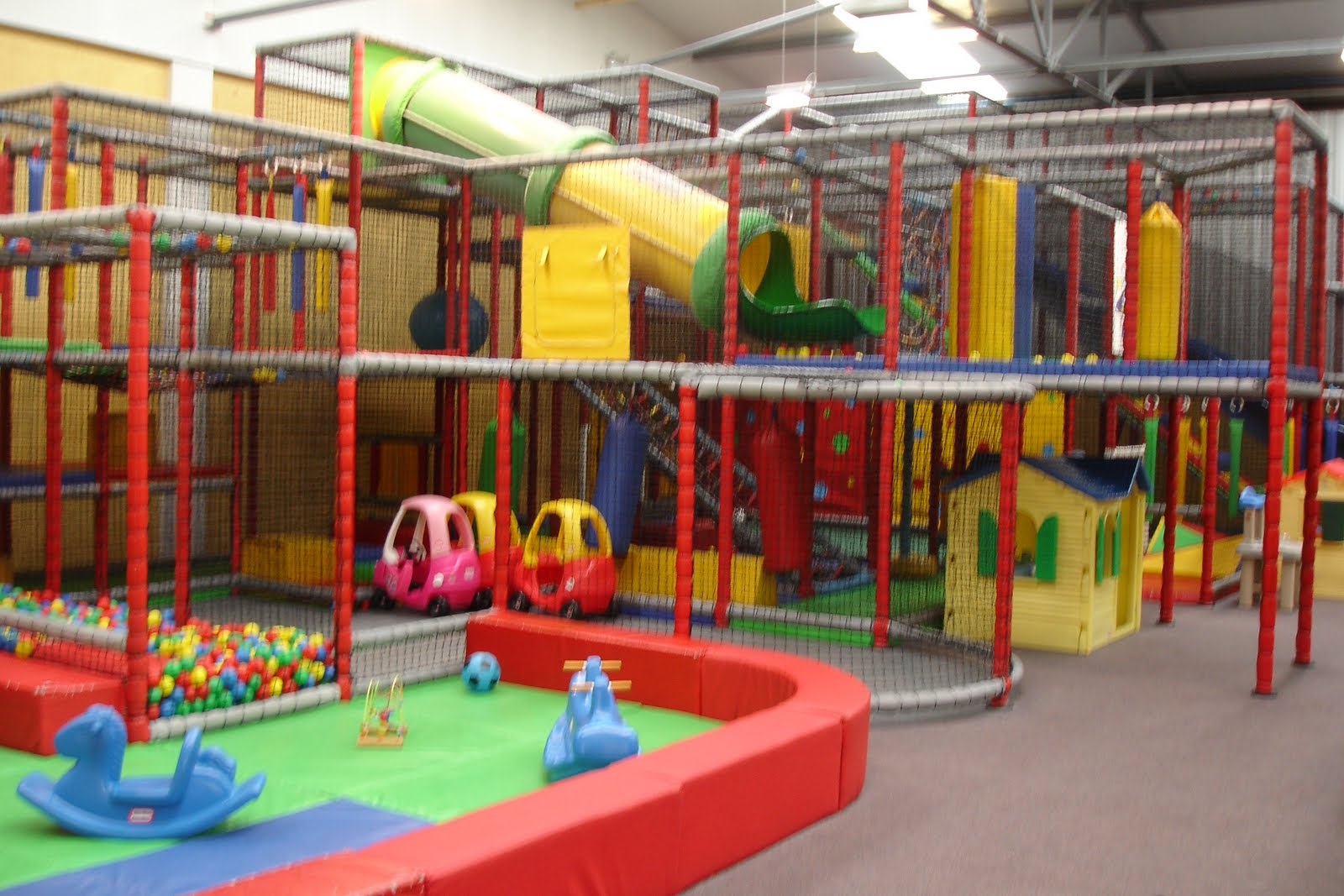Ernest wilson nobody sells businesses better polka for Indoor play area for sale
