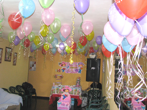 Decoraci n para todo tipo de celebraciones decoraciones - Ideas decoracion salon ...