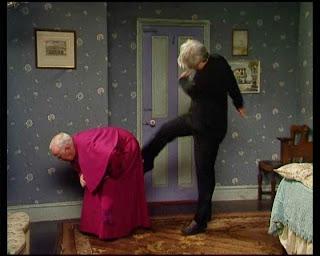 Fr Ted and Bishop Brennan