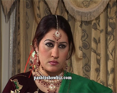 Kiran Ali is a Pashto TV and CD's Actress