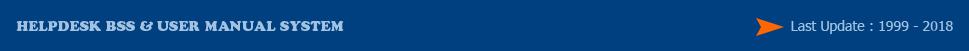 Helpdesk BSS & User Manual Banking Smart System
