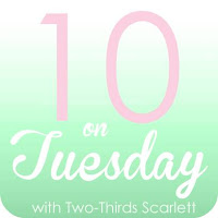 Ten on Tuesday link up