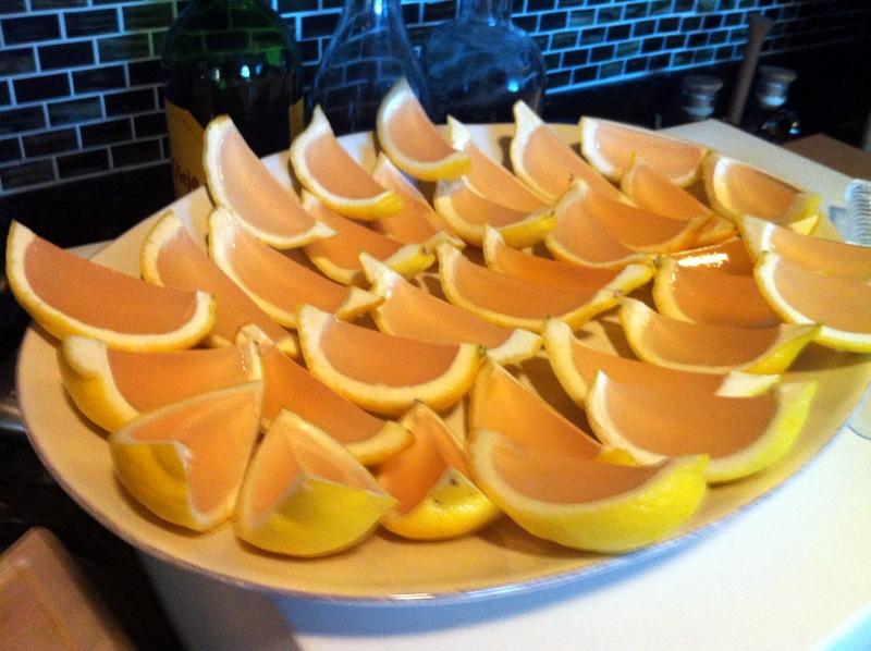 Hardly Housewives: Pink Lemonade Jello Shots