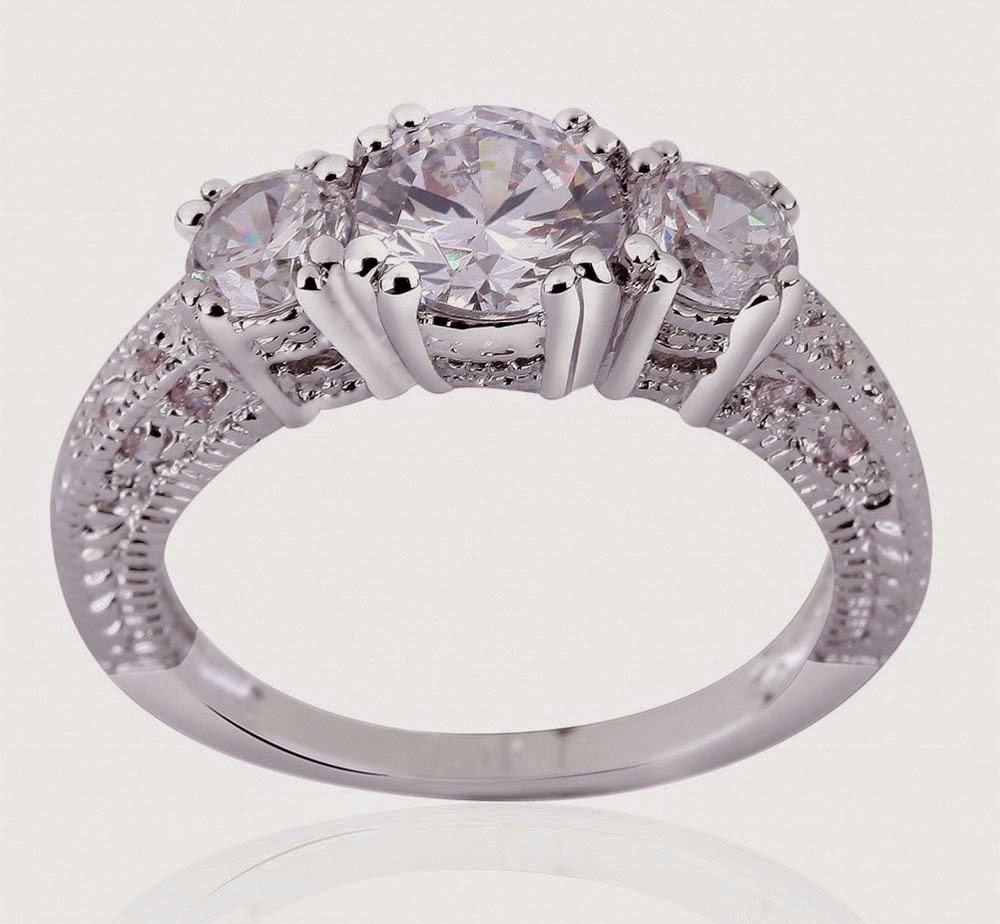 Expensive Light Purple Diamonds Wedding Rings for Women