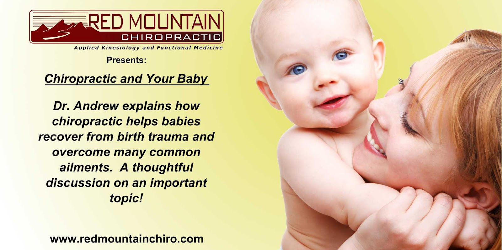 Chiropractic And Your Baby
