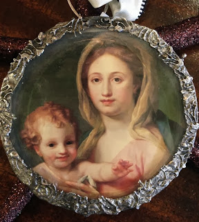Madonna and Child Soldered ornament by The Pickled Hutch