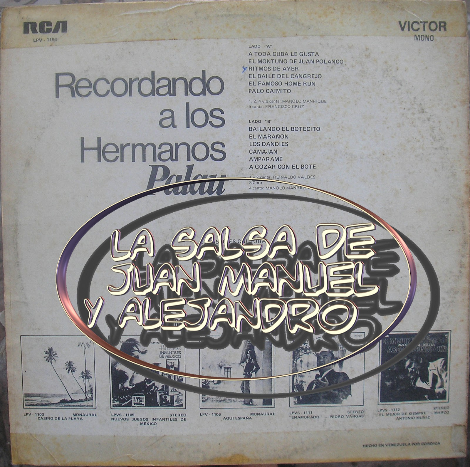 Orquesta Hermanos Palau - Recuerden La Ola Marina / Yo Estoy Aprendiendo Ingles