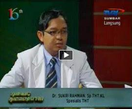 Dr. Sukri di Televisi
