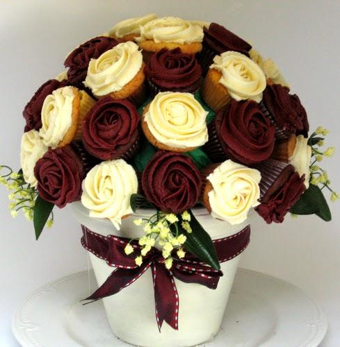 Como fazer Buquê de Cupcakes para o Dia dos Namorados