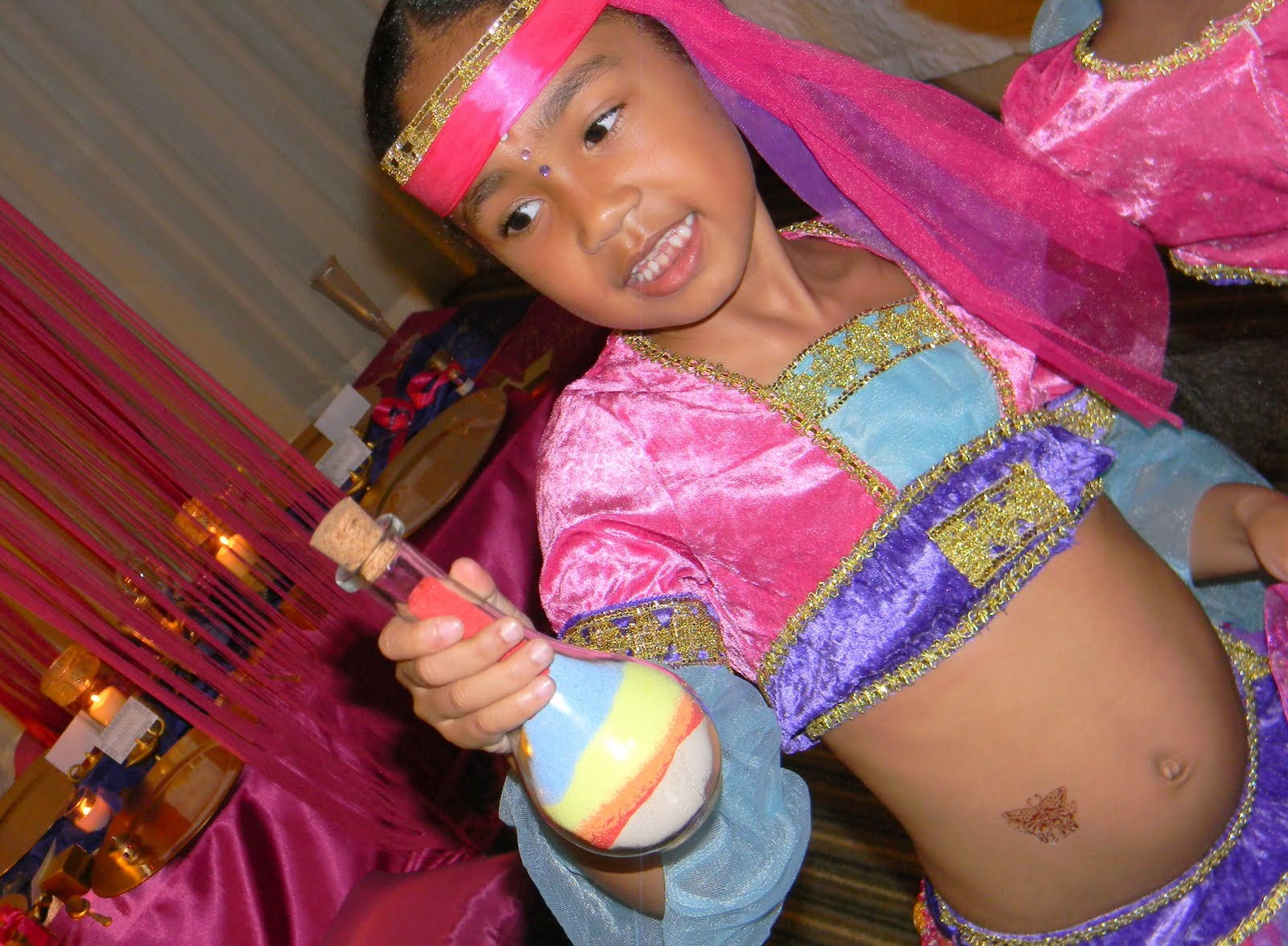 REAL PARTY} Arabian Nights Birthday Slumber Party | Kiddie Soiree