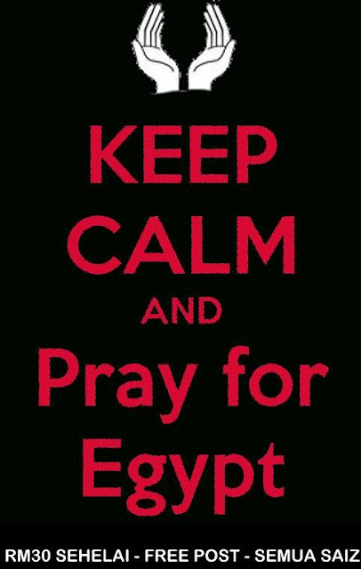 Baju T Pray For Egypt Egypt