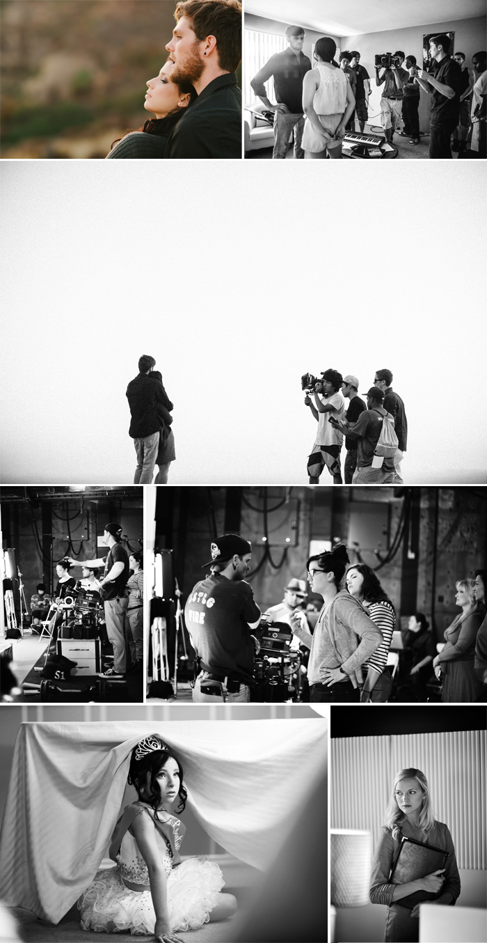 Annie Hall Photography on set photography