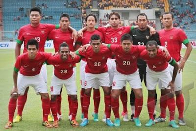 foto timnas sepakbola indonesia 2012