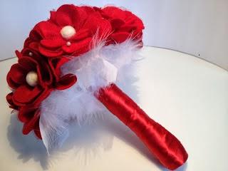 Bouquets y Ramos de Bodas Color Rojo, parte 6