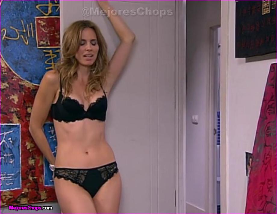 Vanessa romero ropa interior negra vestidos de famosas y for Vanesa romero ropa interior