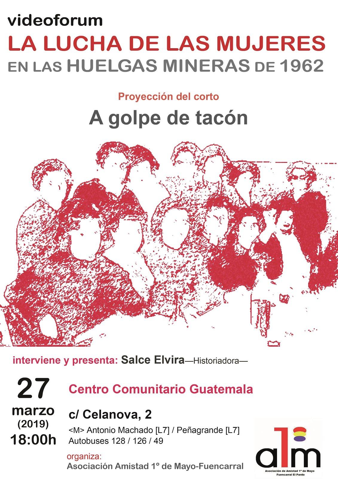 27 marzo la lucha de clase por la Igualdad