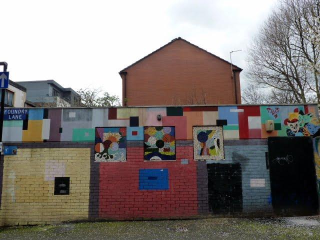 Graffiti por las calles de Manchester