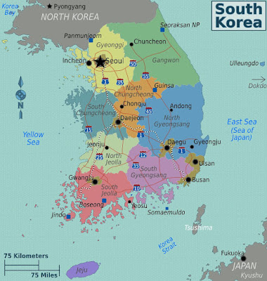Penempatan Sekolah Saya di Korea